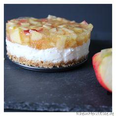 Apfeltörtchen mit Joghurtcreme #ichbacksmir #apfelkuchen #apfel #apple