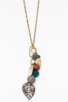 Summer Orchard Necklace $25.00 workofworth.com #fairtrade #fordignity