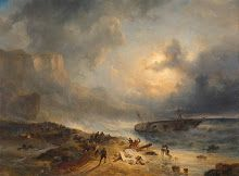 Shipwreck off a Rocky Coast Wijnand Nuijen