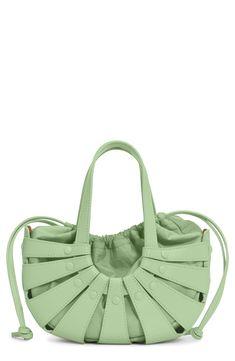 Cat Vector, Basket Bag, Drawstring Pouch, Green Bag, Bottega Veneta, Designer Handbags, Shells, Nordstrom, Bag Design