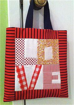 LOVE bag to sew