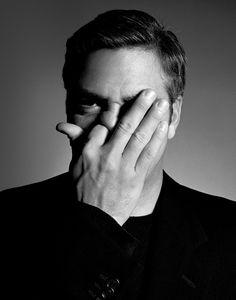 George Clooney Portrait Rankin Portrait Book. One Eye Symbolism