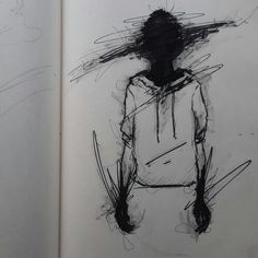 Good Photo deep drawing darkness Popular Let's say you are being placed in the actual subway, minding your own own business, scrolling in your phone. Creepy Drawings, Dark Art Drawings, Pencil Art Drawings, Art Drawings Sketches, Cool Drawings, Creepy Sketches, Art And Illustration, Dibujos Dark, Vent Art