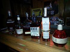Bourbon tasting 1