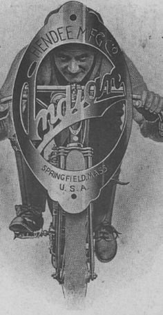 1908 Indian motocycle promo #vintage | caferacerpasion.com