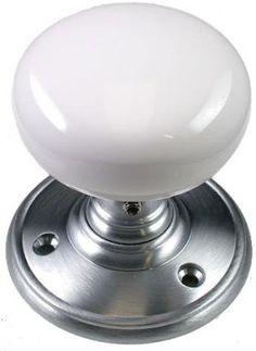 Iron Rosette Mortise Lock Set With White Porcelain Door Knobs | Hardware |  Pinterest | Porcelain Door Knobs, Mortise Lock And Door Knobs