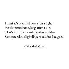 Someone whose light lingers on - uplifting poem quote