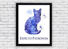 Hey, I found this really awesome Etsy listing at https://www.etsy.com/listing/281141938/expecto-patronum-cat-harry-potter