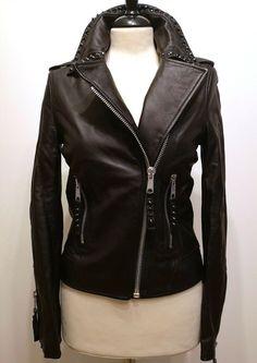 * * * FAITH Nietenlederjacke schwarz, Gr.S * * * Leather Jacket, Faith, Ebay, Fashion, Clothing Accessories, Jackets, Fashion Women, Studded Leather Jacket, Moda