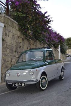 "FIAT 500 Pickup ""This is absolutely the most adorable Classic Italian pickup"""