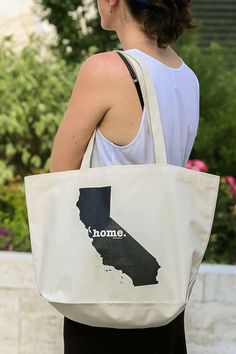 The California Home Tote Bag.