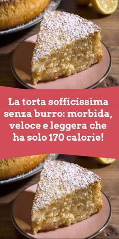 Italian Desserts, Italian Recipes, Biscotti, Stevia, Vanilla Cake, Food And Drink, Cakes, Cooking, Breakfast