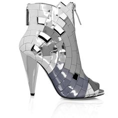 Thakoon Mirror Mosaic Ankle Boots $1,195
