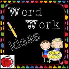 Terri's Teaching Treasures: Daily 5 Word Work
