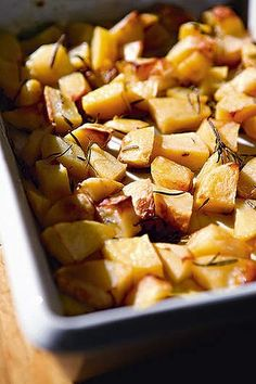 Roast potato tips (very conflicting, pick and choose)