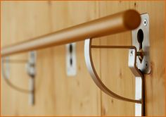 Not only Yoga Wall Belts aka wall ropes but also Wall Bars can be attached to the Yoga Wall