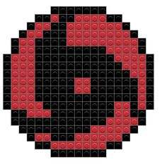 Pixel Art Minecraft, Minecraft Designs, Minecraft Buildings, Perler Bead Art, Perler Beads, Grille Pixel Art, Pixel Art Anime, Image Pixel Art, Sasuke Sharingan