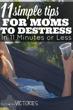 These 11 tips instantly destress any mom in tense situations. They have calmed me into the stress free mom I want be so that I show up for my kids! When I find myself parenting in a way I don't love, I can calm down within seconds with these destressing tips. I love the BONUS tip too - KISSING! Honestly, it's my favorite.