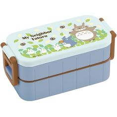 My Neighbor Totoro,Thermal Bento Lunch box,2-container 600ml,Both... (0.70 CAD) ❤ liked on Polyvore featuring home and kitchen & dining