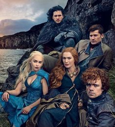Game of Thrones cover photo by Annie Leibovitz for April 2014 Vanity Fair.