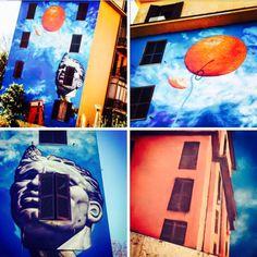 Street art in Rome https://www.instagram.com/urbanart_roma/ #ShareArt - #Art #LoveArt http://wp.me/p6qjkV-9fe