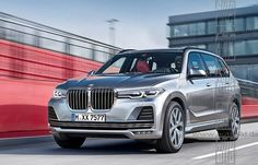 BMW X7 will be unveiled in 2018 with sales beginning in 2019