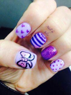 Nails by Juliet purple love
