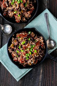 Easy Black Beans and Rice with Smoked Sausage