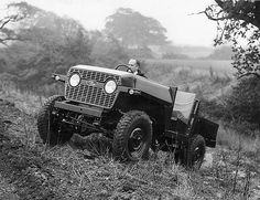 1965   Rare Find   Land Rover Lightweight R-6796-2   Prototype