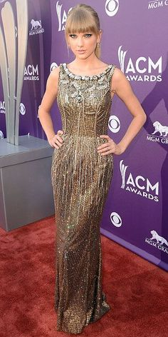 Taylor Swift at ACM Awards