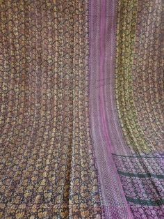 kantha quilt cotton