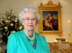 Queen Elizabeth II gave her Christmas speech to the nation in the Chapel at Buckingham Palace in 2005.