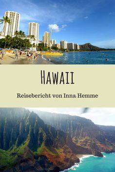 """Urlaub auf Hawaii - Foto: Die Napali-Küste heißt übersetzt """"steile Klippen"""" (Foto: Inna Hemme)"""