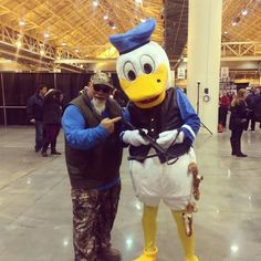 Duck Dynasty's Godwin. Does he realize its duck season? LOL
