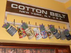 Collezione boccali di birra