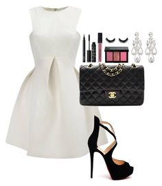 """Unbenannt #50"" by chiaraisabellaa on Polyvore featuring Mode, Givenchy, NARS Cosmetics, Smashbox, Bobbi Brown Cosmetics, Christian Louboutin und Chanel"