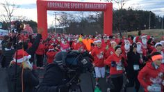 Maine - Santa Hustle Half Marathon and 5K South Portland ME November 23 2014