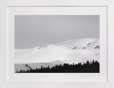 """""""Fresh Tracks"""" - Art Print by Christina Flowers in beautiful frame options and a variety of sizes."""