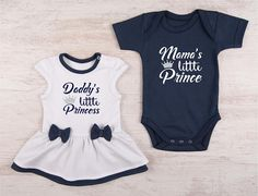 ac907b37c3af Twins Baby Gifts, Baby Twin Outfits, Baby Girl Bodysuit Dress & Baby Boy  Bodysuit Set, Boy and Girl Twin Outfits, Twin Baby Clothes