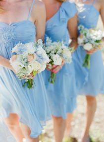 pretty blue bridesmaids // SMP