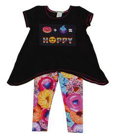 Little Mass Girls Donut Top and Legging Set PREORDER $68.00
