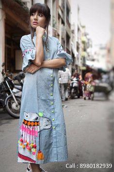 Best 12 Dress marteal – SkillOfKing.Com Stylish Dress Designs, Designs For Dresses, Stylish Dresses, Churidar Designs, Kurta Designs Women, Blouse Designs, Indian Fashion Dresses, Indian Designer Outfits, Navratri Dress