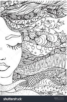 Mandala Drawing, Mandala Art, Ink Doodles, Bullet Journal Cover Ideas, Shirt Drawing, Zentangle Patterns, Zentangles, Living At Home, Doodle Art