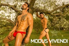 Photographer: Lionel ANDRÉ – Models:  Tony Model Fr and  Jess Vill Underwear: Modus Vivendi