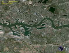 Pleiades-1 Satellite Image of Rotterdam, Netherlands