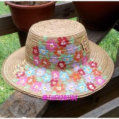 Sombrero panameño de junco pintado a mano d7ebef8ad79