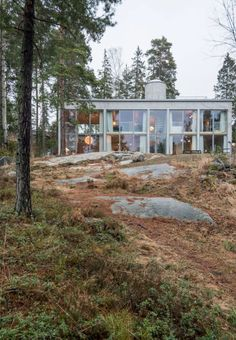 Love the architecture of this house in Nacka, Stockholm | The...