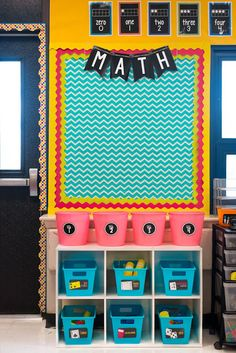 Classroom Reveal- The best organized classroom I've ever seen! Classroom Reveal- The best organized classroom I've ever seen! First Grade Classroom, New Classroom, Classroom Design, Classroom Themes, Classroom Reading Area, Chevron Classroom Decor, Classroom Bulletin Boards, Classroom Setting, Classroom Organisation