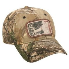 Realtree Camo Major League Bowhunter Hunting Hat Western Hats d981dc62d3c