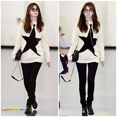 20161006 at Gimhae airport #hanhyojoo #한효주 #beautiful #ohyeonjoo #오연주 #airport #glasses #jeans #fashion #style #stylish #beauty #pretty #cute #girls #model #skirt #ootd #outfit #cool #gorgeous #trend #shoes #fashionista #인스타그램 #스타일 #모델 #배우 #아름답다 #예쁘다